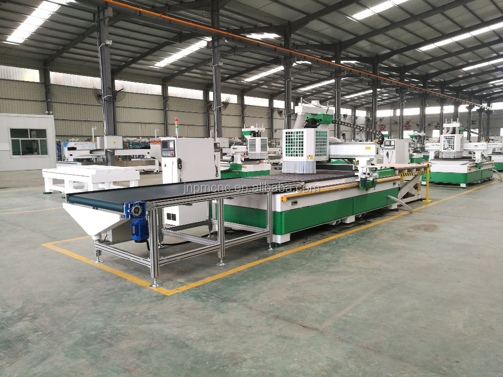 ATC drilling automatic feeding loading unloading system cnc engraving and milling machine