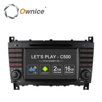 Ownice Android 6.0 Quad Core Head Unit for Benz C-Class W203 CLK W209 support 4G LTE