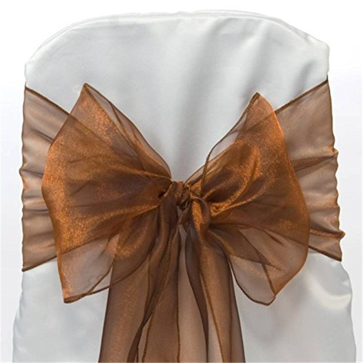 Home textile rose gold chair sashes,wedding chair covers sashes,chair sashes spandex