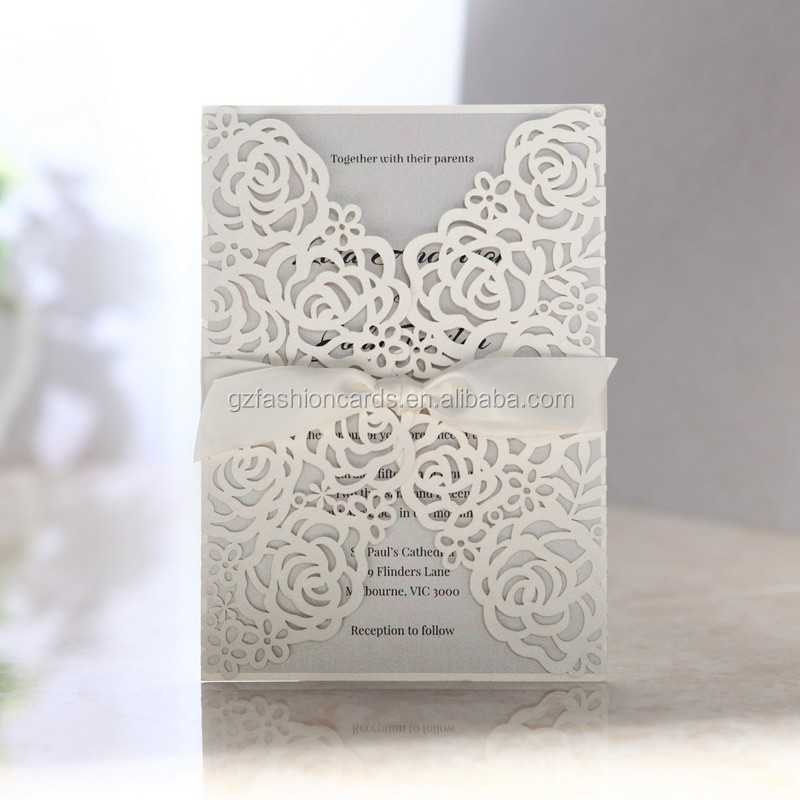 Unique Latest Design 2014-2015 Luxury Wedding Invitation Cards