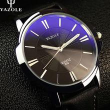 YAZOLE Relógio De Quartzo Homens Top Marca De Luxo Famoso 2016 relógio de Pulso Masculino Relógio Negócio Relógio de Pulso De Quartzo-relógio Relogio masculino
