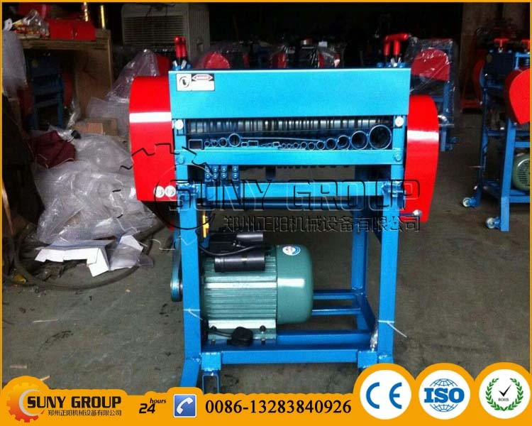 Electric Wire Stripper Used Cable / Wire Stripping Machine With ...