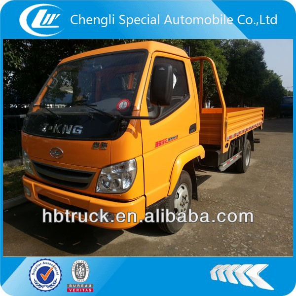 3tons light cargo truck T-king brand 4*2