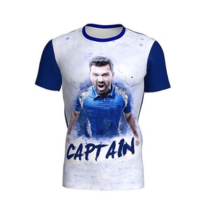 100% cotton men fancy t shirt wholesale