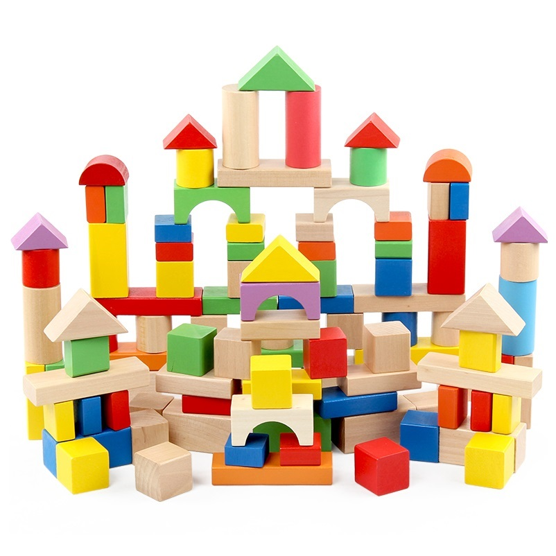 Toy Large Wooden Blocks 18