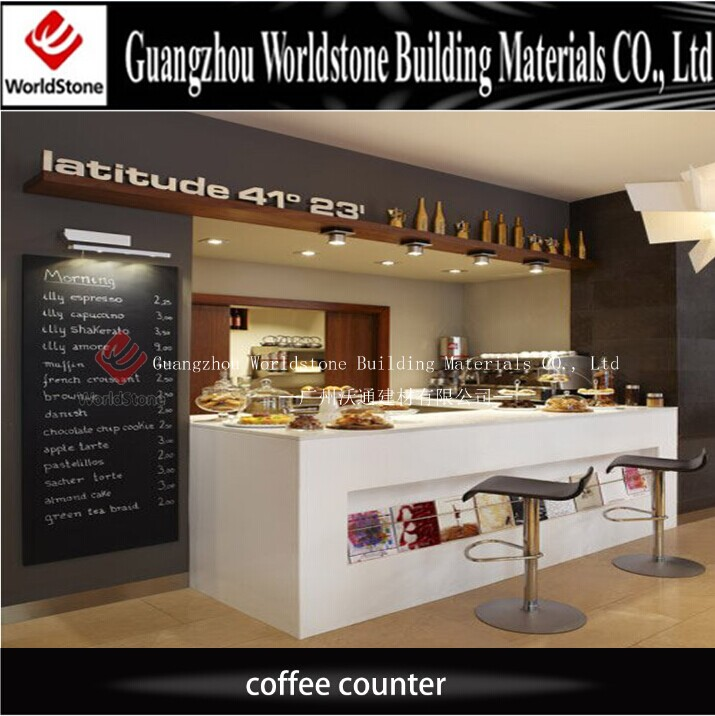 Customized Design Coffee Shop Display Counter For Sale ...