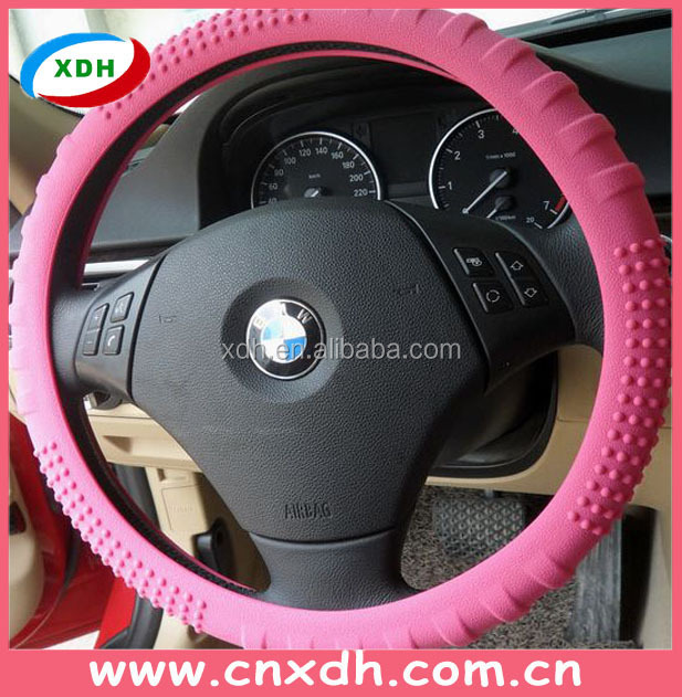 Silicone Practical glowing in the dark Winter Steering Wheel Cover