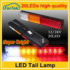 China OEM 20LED led trailer tail lights truck led tail light with high quality
