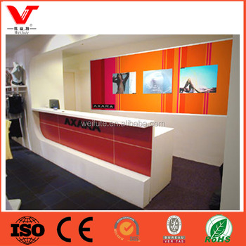 Modern Clothing Shop Cash Counter Table Design For Garment Store