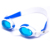 Anti fog silicone swimming goggles with oem logo printing