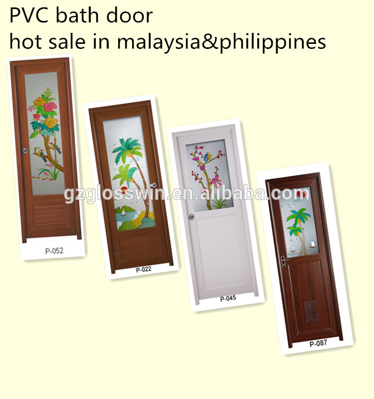 Exceptionnel Pvc Bathroom Door Design, Pvc Bathroom Door Design Suppliers And  Manufacturers At Alibaba.com