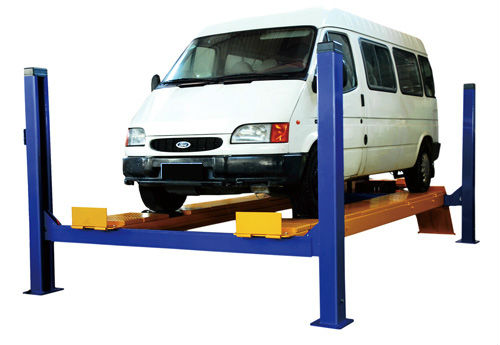 four post car washing ramp for exporting