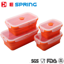 Ingenious Designs Large Square Shape Easy Storage Airtight Food Container