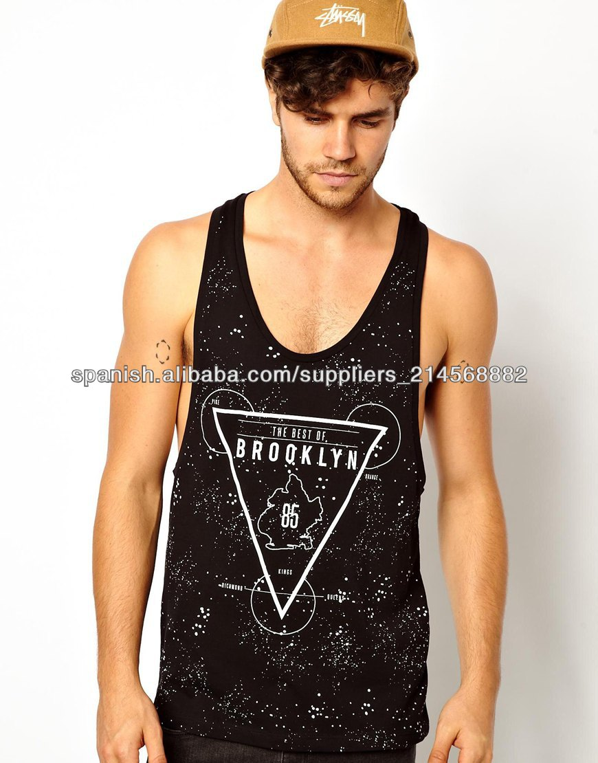 Tirantes Camisetas De Para Hombre Identificación wOP80nk