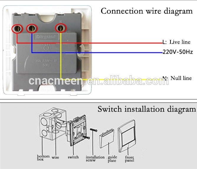 Hotel switch wiring diagram images