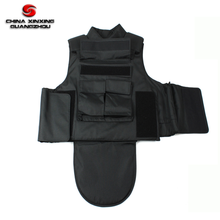 full protection ballistic vest with level 4 ceramic plate