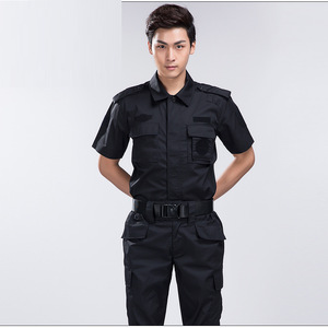 Customize your own logo security guard uniforms