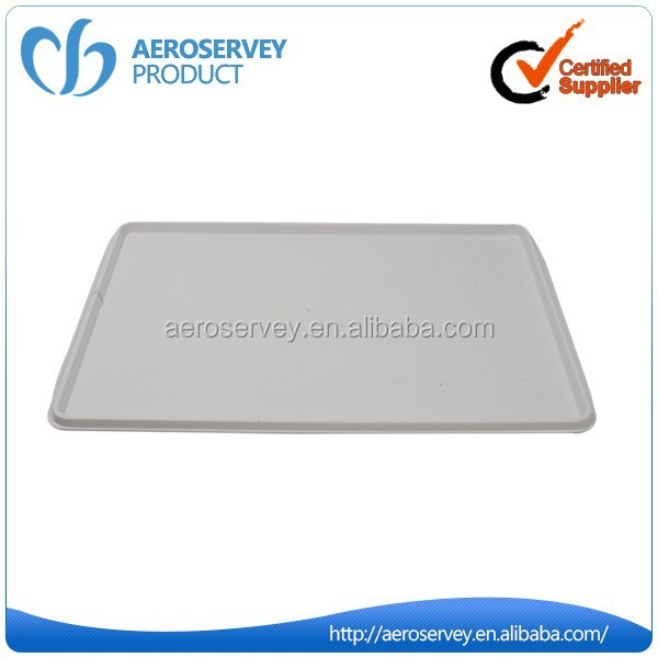 Hot selling high quality white airline meal tray