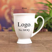 Grade AAA 11oz sublimation ceramic logo printed cup