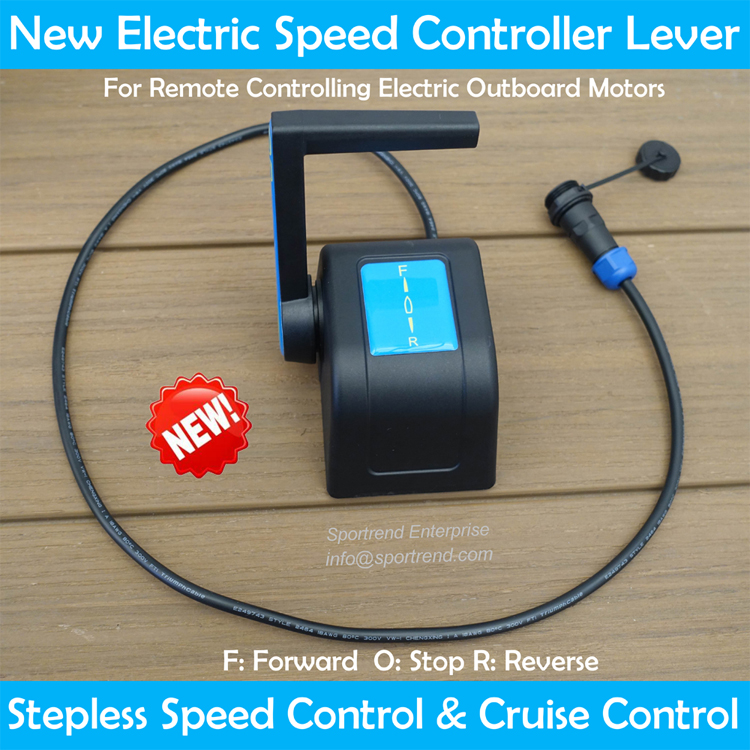 Brushless Electric Thruster Trolling Motor With Speed Controller For Kayak  Or Sailboat Diy 12v/24v/48v 80lbs-180lbs - Buy Brushless Electric Trolling