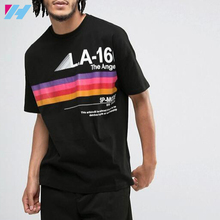 Wholesale OEM plain round neck custom t shirt printing Screen Printing latest shirt designs for men