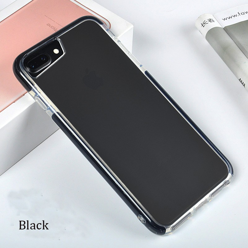 DFIFAN Matte Black cover case for apple iphone 7/7 plus ,super slim phone case for iphone 7 plus