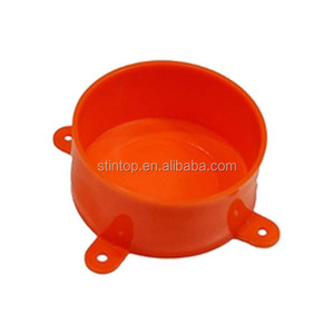 Orange Disposable Junction Box Lid Australia Standard (AS/NZS2053) UPVC / PVC Plastic Pipe / Conduit & Fittings 20mm sweep bend