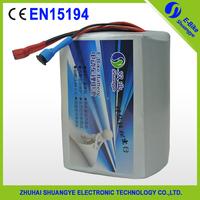 36v 12ah lithium ion battery pack for ebike