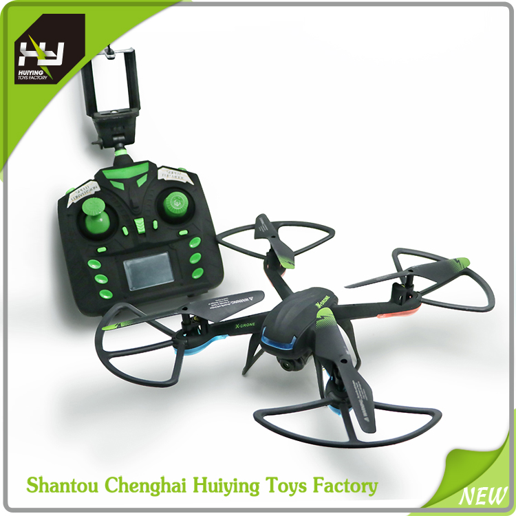 NEW professinal drone! 2.4G 4-axis wifi real-time video y007c drone with HD camera and LCD screen