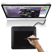 Huion 8x 6 Inches 4000LPI 200PRS 2048 Pen Sensitivity Touch Pad Pen Tablet + Battery Pen Compatible With Windows CS SAI 680S