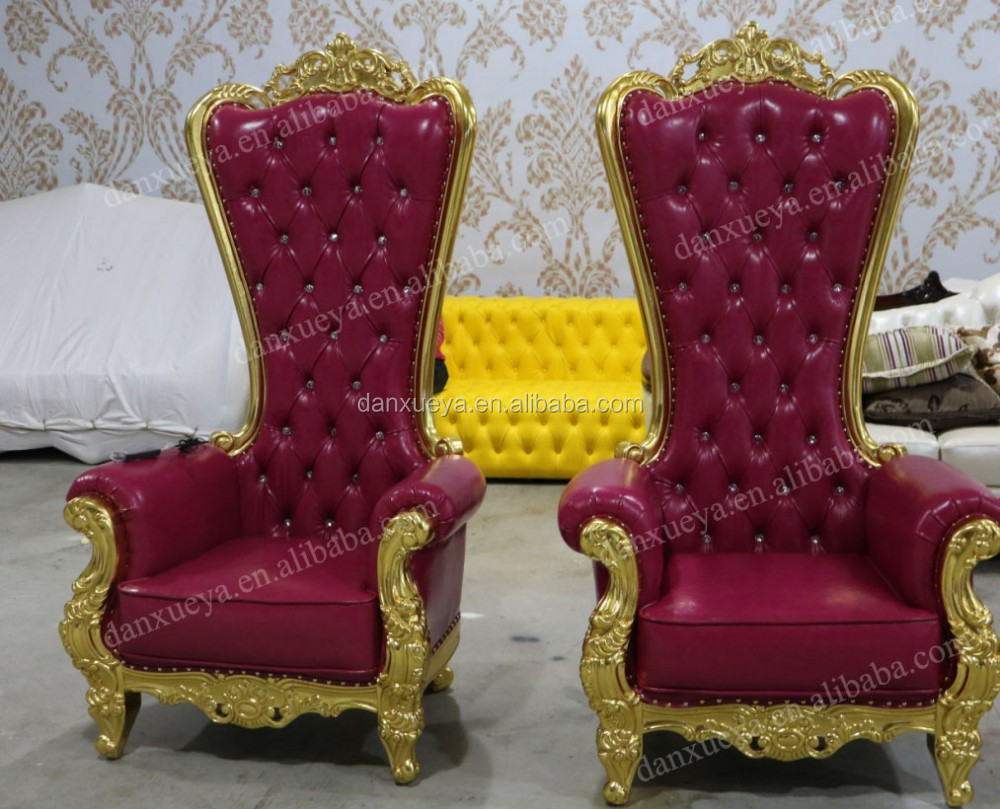 Captivating Danxueya  Wholesale High End Royal Queen Throne Chair