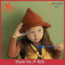 F-826 new 2016 high quality baby woolen windmill cap fashion hats
