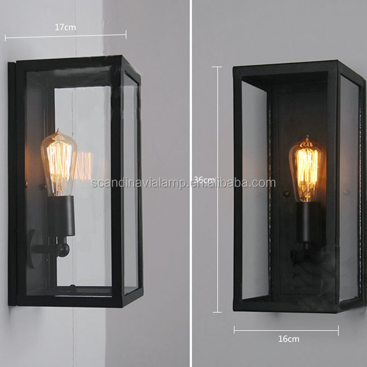 Industrial Edison Wall Lamp Retro Wall Light Rustic Wall Sconce ...