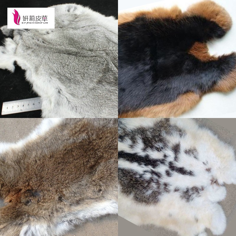 Entertainment Memorabilia 2019 Fashion Patchwork Section Rabbit Fur Plate Rabbit Skin Rug Belly Fur Plate Blanket Blankets Factory Sale Good Quality New