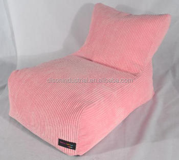 Corduroy Fabric Material Lazy Bean Bag Chair