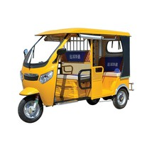 Steel Roof 3 Wheeler Electric Rickshaw For Sale
