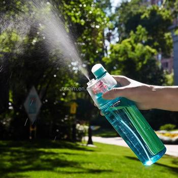 600ml School Kids Mist And Sip Sports Water Bottle Plastic Water Spray  Drink Bottle - Buy Spray Drink Bottle,Water Spray Drink Bottle,Plastic  Water