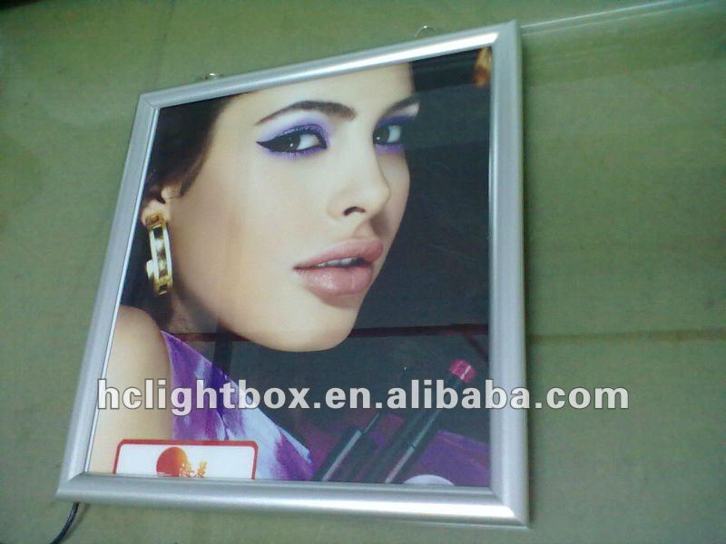 A3 LED Curved Aluminum Snap Poster Frame Ultra thinLight box
