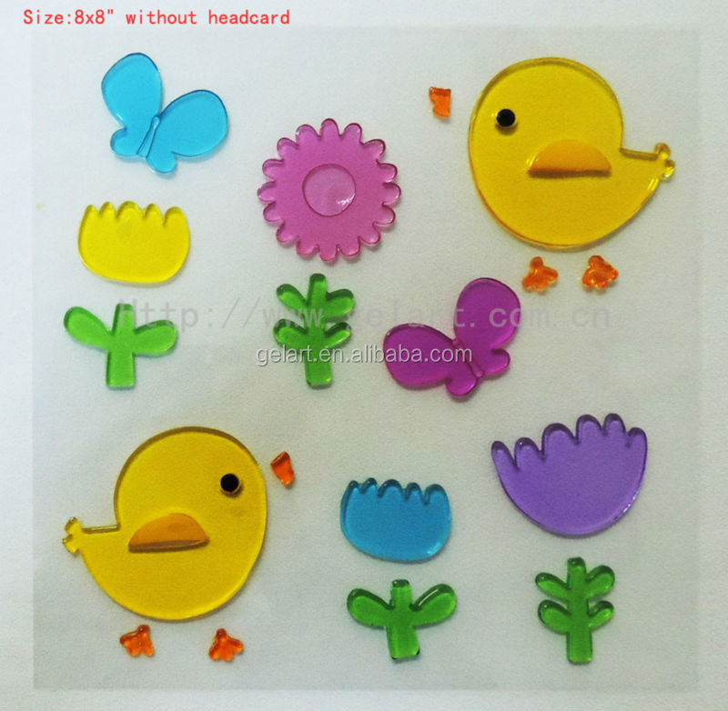 Easter gel stickers window sticker jelly sticker spring gel clings buy gel stickerswindow stickereaster product on alibaba com