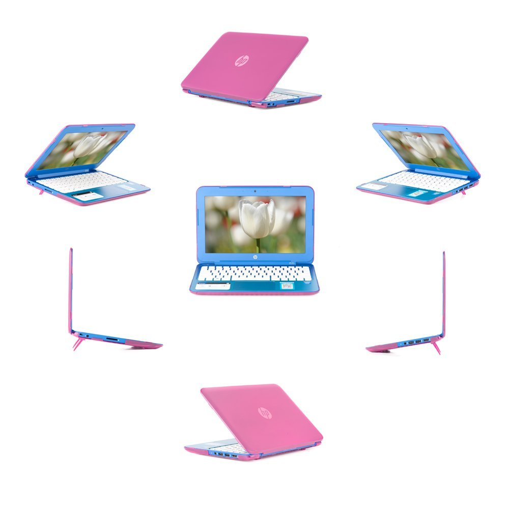 "iPearl mCover Hard Shell Case for 13.3"" HP Stream 13 Cxxx series Windows laptops (Pink)"