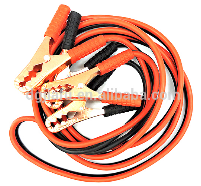 Alligator clip cable with 2 poles SAE/bullet connector