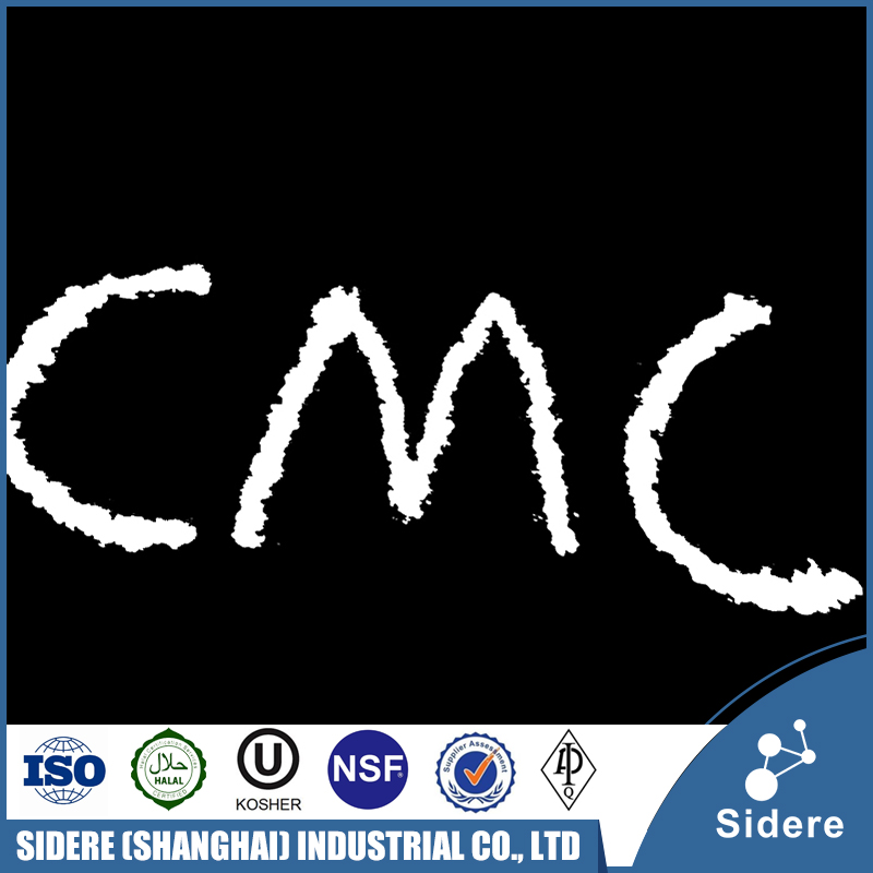 Food Additives Agent White Powder Carboxyl Methyl Cellulose CMC