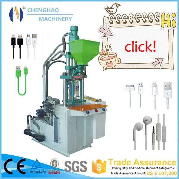 Micro Vertical Plastic Injection Molding Machine