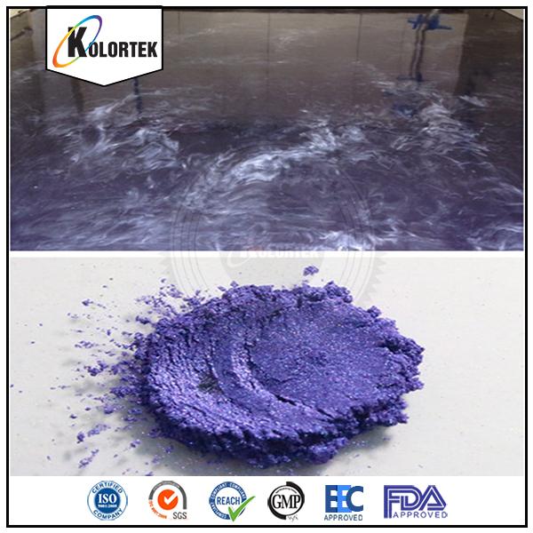Pearlescent Metallic Pigments For Epoxy Floor Coating