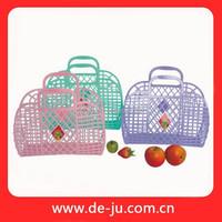 Provide Plastic Colorful Wholesale Gift Basket Empty