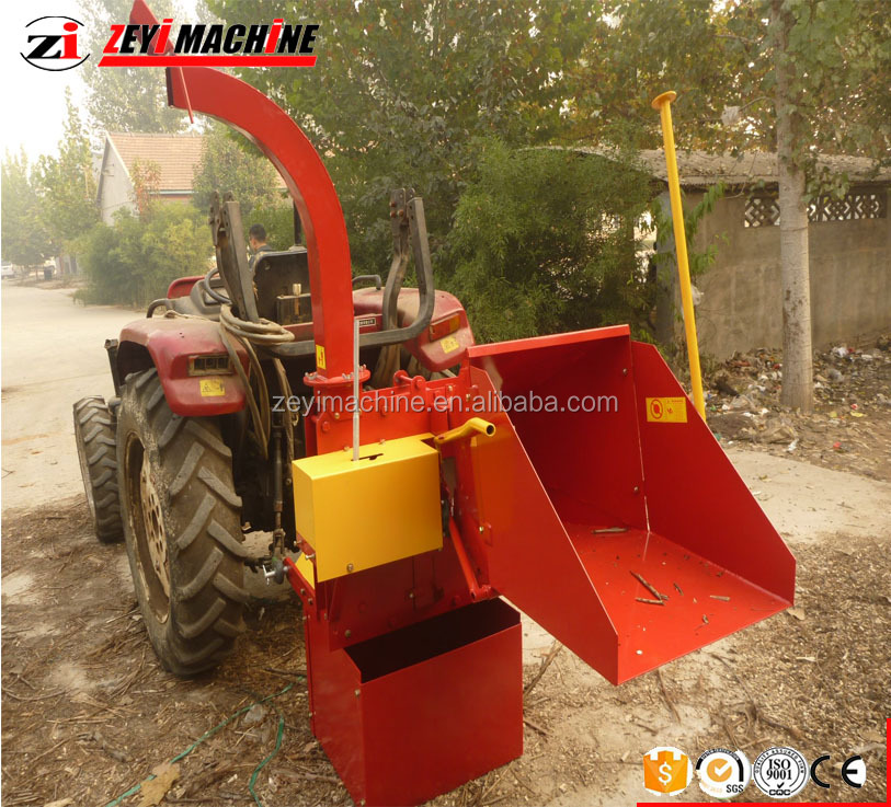 2018 New tractor chipper wood shredder used wood chipper for sale