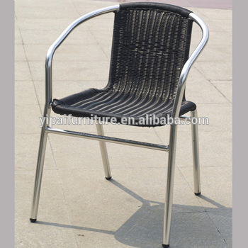 Tienda De Café De Mimbre Terraza Sillas De Metal Legsyc027 Buy Silla De Café Sillas Sillas De Ratán Patas De Metal Silla De Terraza Ratán Product On