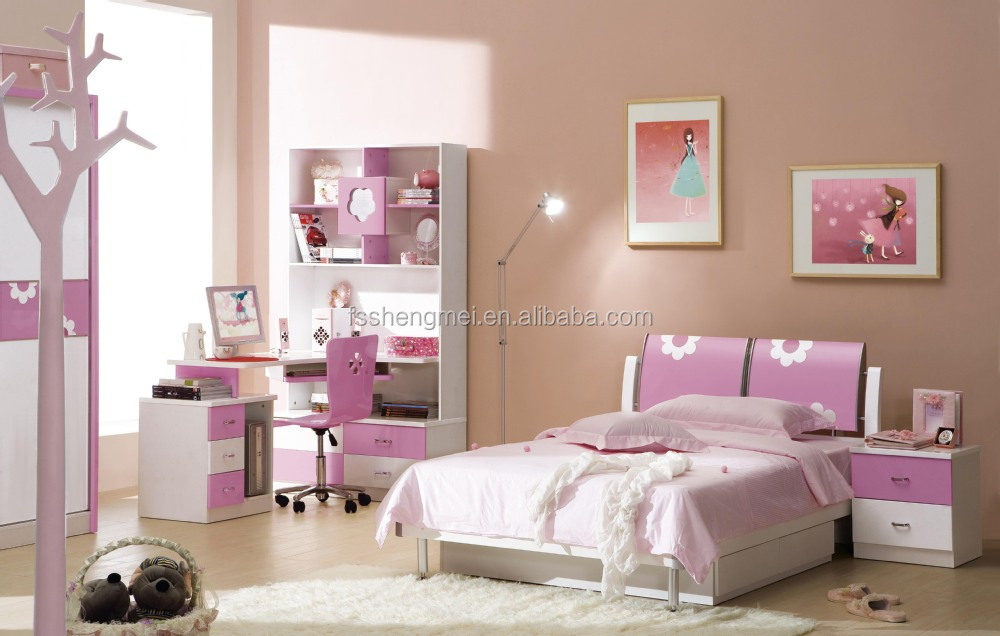 New Design E1 Standard MDF Cute Bunk Bed Kids Bedroom Furniture ...