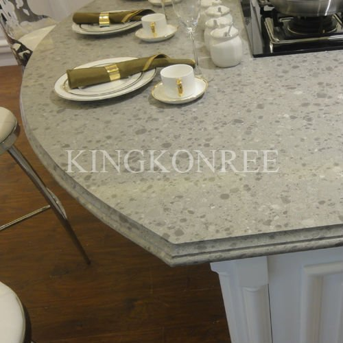 Beveled Edge Og Countertop Made Of Artificial Stone