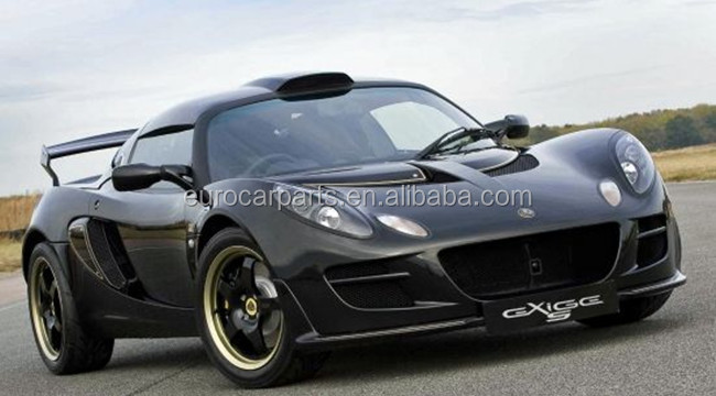 Exige S2 front spoiler fit for Lotus Exige style 2013year Exige S2 carbon fiber front lip for Lotus front lip